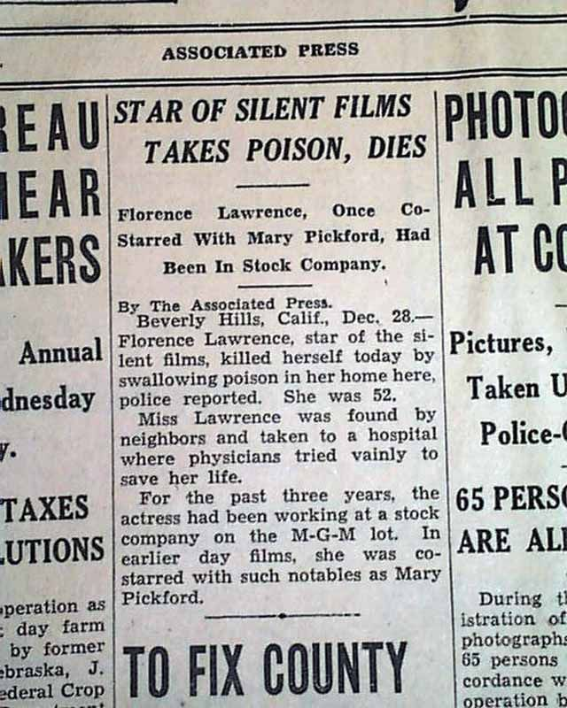 18 best florence lawrence images on pinterest florence lawrence florence lawrence obituary december 29 1938 fandeluxe Image collections