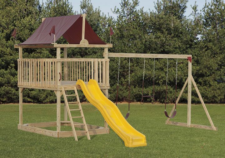 free kids playset plans woodworking projects plans