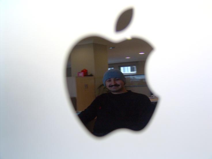 yansımalara bayılıyorum, apple halim