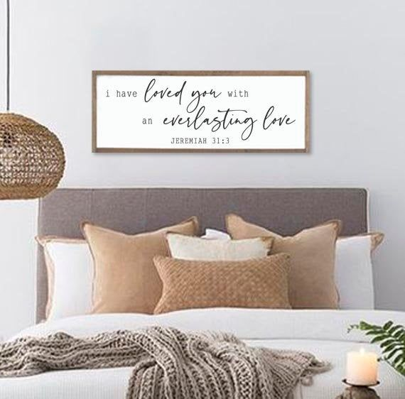 Master Bedroom Decor I Love Your Love The Most Wood Framed Signs Bedroom Wall Art Master Bedroom Sign Wall Decor Home Living Wall Decor Delage Com Br