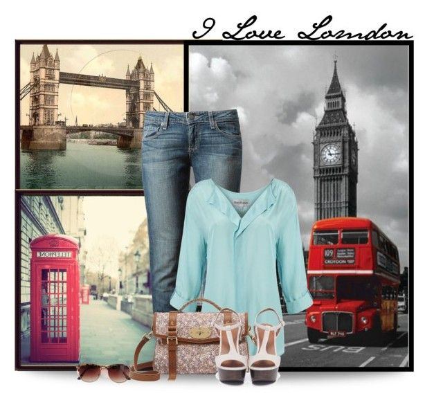 """London"" by deda-83 ❤ liked on Polyvore featuring Paige Denim, Mary Portas, Mulberry, Bruno Premi, Retrò, women's clothing, women, female, woman and misses"