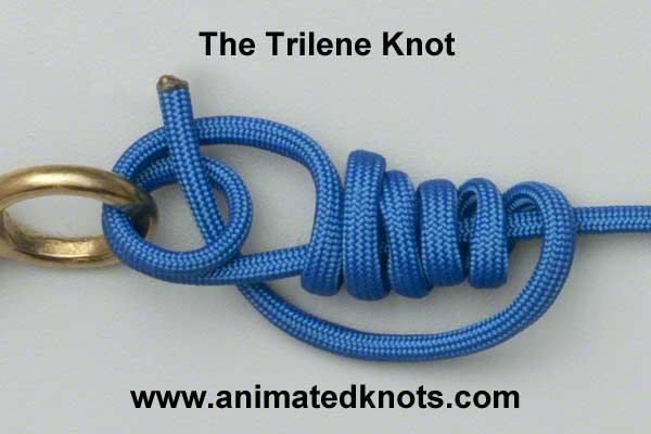 Trilene Knot   How to tie a Trilene Knot   Fishing Knots