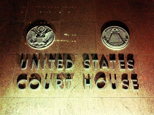 United States Court House is scary!
