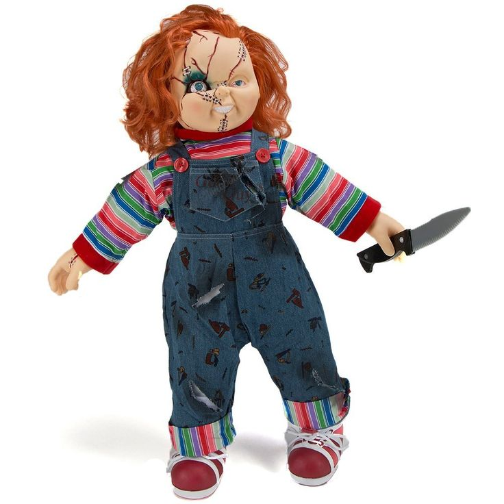 """Bride of Chucky 26"""" Child's Play Good Guy Doll with Knife"""