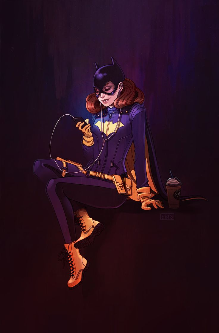 Batgirl of Burnside by ElizabethBeals.deviantart.com on @DeviantArt