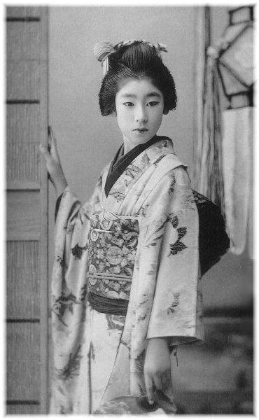 美人芸者 東京 ぽん太 明治13-大正14 1880-1925 45歳没 本名 谷田恵津