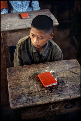 China 1971, by Marc Riboud / Magnum Photos.  so sad