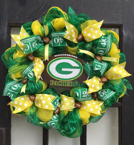 Green Bay Packers wreath Packers wreath Green Bay wreath