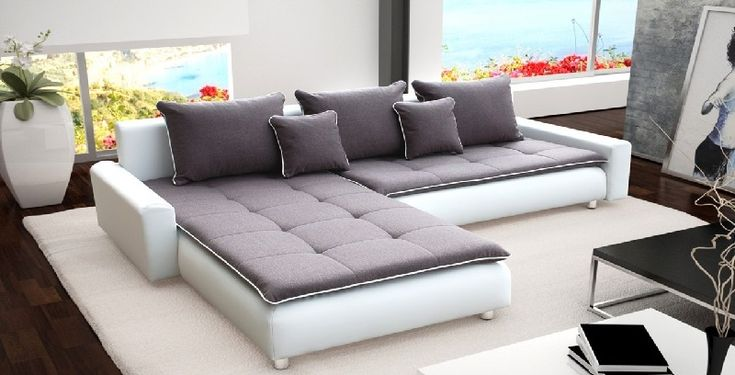 Extra Large Fabric Corner Sofa