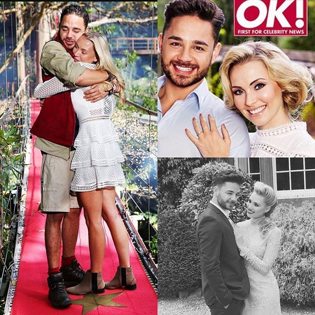 NEWS Sparkle Weddings Kent is very excited to announce that I will be designing and making the wedding invitations for the very lovely Caroline Daly and Adam Thomas (Emmerdale Actor and I'm a Celebrity Get Me Out of Here star) The wedding is being covered by OK magazine  totally overwhelmed and such an honour  can't wait to get started !  @adamthomas21 @caz_daly @emmerdale @imacelebuk