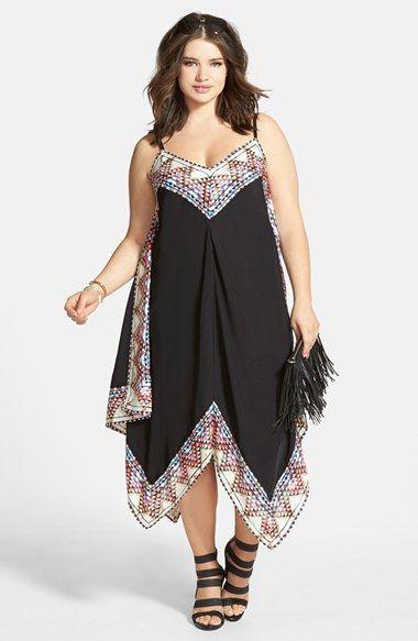City Chic 'Festival Border' Maxi Dress (Plus Size) | Nordstrom