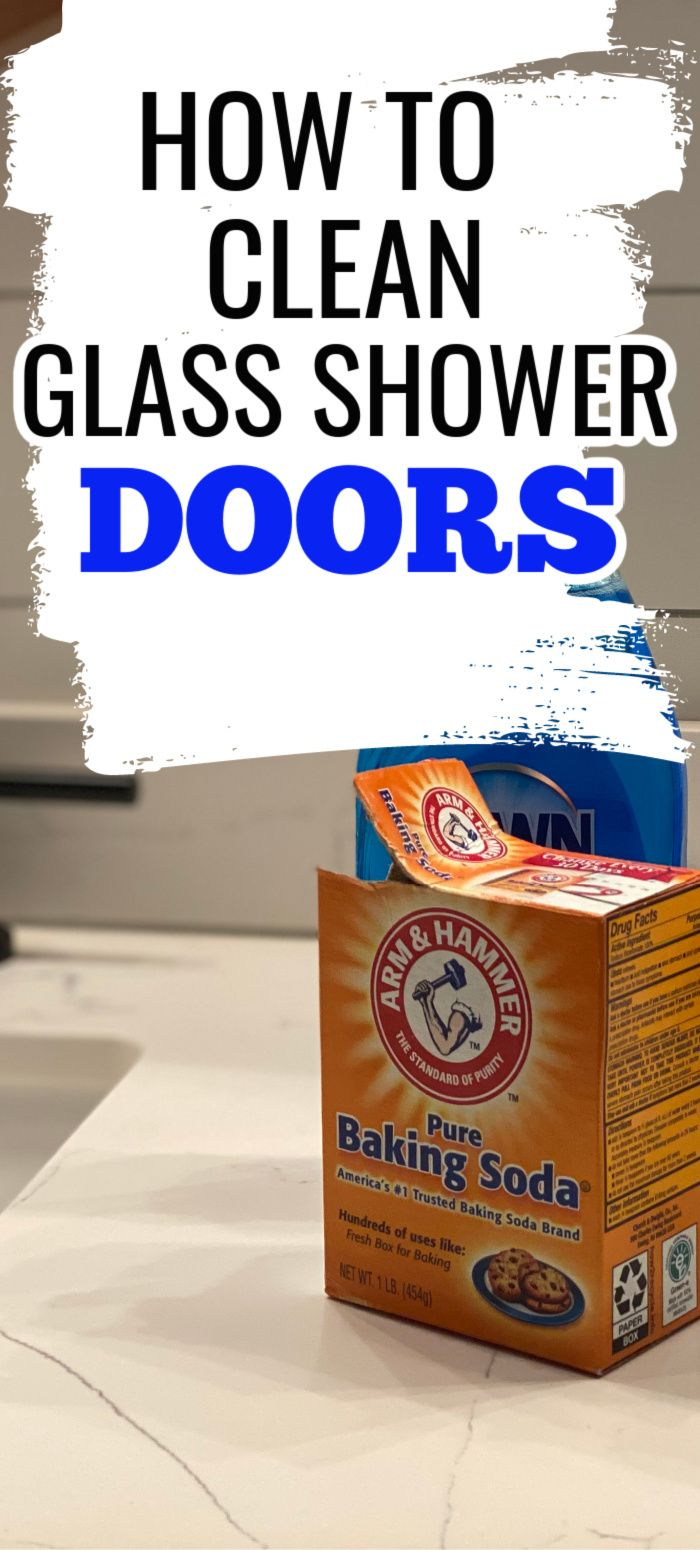 How To Clean Shower Doors Learn How To Clean Your Glass Shower Door With Vinegar And Baking Soda Here S How To R Glass Shower Glass Shower Doors Shower Doors