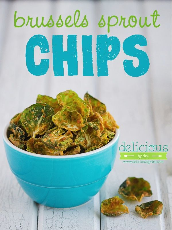 brussels sprout chips...dairy-free, gluten-free, raw, clean, paleo-approved. I might just make these this week!