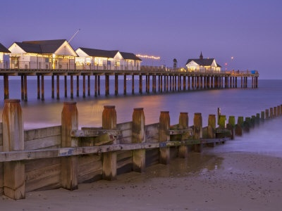 I love this view of Southwold Pier