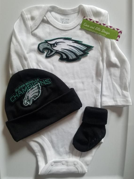 online store 0b474 f7f15 Philadelphia eagles baby outfit,philly eagles baby,eagles ...