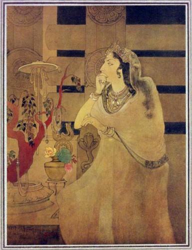 Asoka's Queen - Abanindranath Tagore