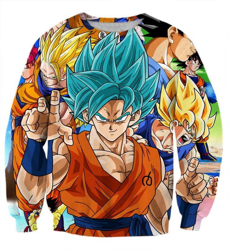 DBZ Goku Saiyan God Blue SSGSS Whis Symbol Cool Design Sweatshirt  #DBZ #Goku #Saiyan God Blue #SSGSS #Whis Symbol #Cool Design Sweatshirt