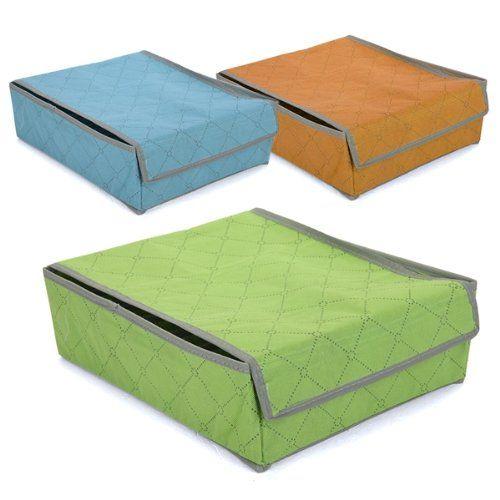 Storage Organizer Holder Shoe Organiser Bag Box Under Bed Closet, Fabric Folding Case Storage Box