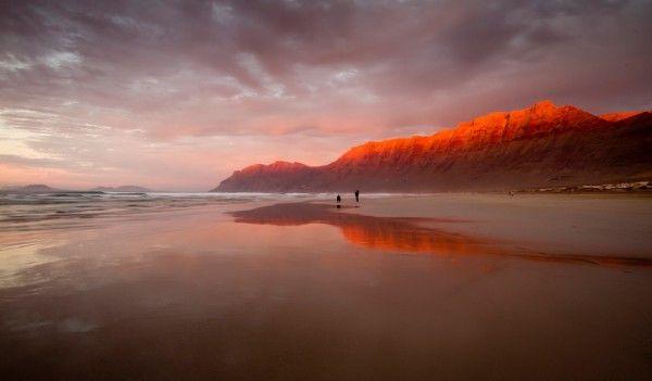 Playa de Famara, Lanzarote.