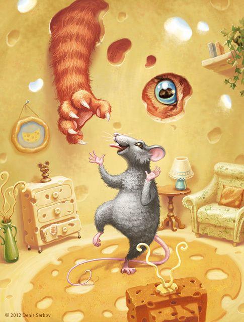 Сообщество иллюстраторов / Иллюстрации / Denis Serkov / Тихвинская площадь 10