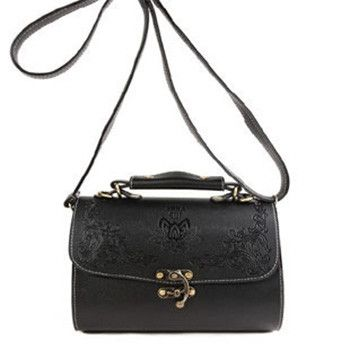 Mara's Dream Fashion Women Handbag Bags Vintage Soft PU Leather Wild Cover Lock Carved Shoulder Messenger Bags Bolsos de