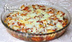 Fırında Kaşarlı Patlıcan Yemeği Tarifi