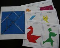 Les formes : Tangram
