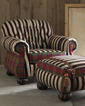 Love the Mackenzie Childs chairs
