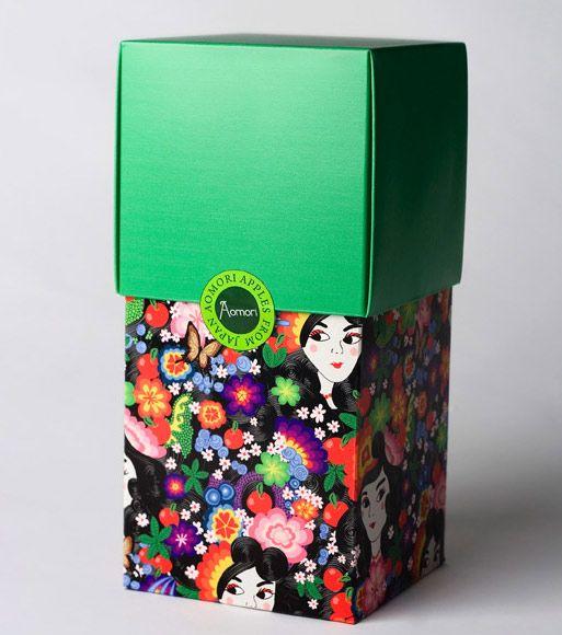 Aomori Apples - Japanese packaging design