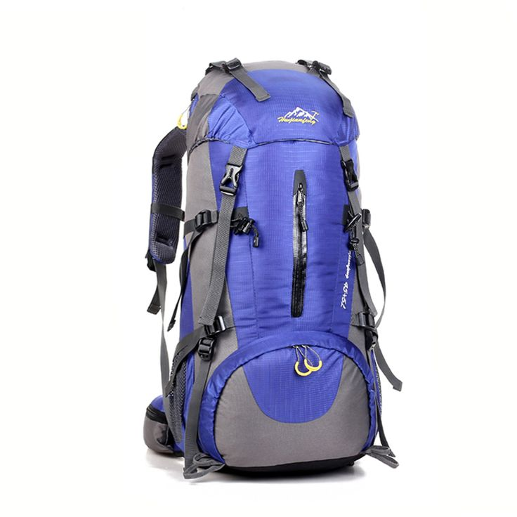 Mountaineering Climb Outdoor Backpack Travel Pack Trekking Rucksack Camp Hike Equipment 50L for Men Women males Teengers