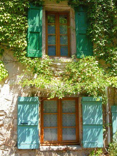 Shutters ~ Monieux ~ Provence  ~ France