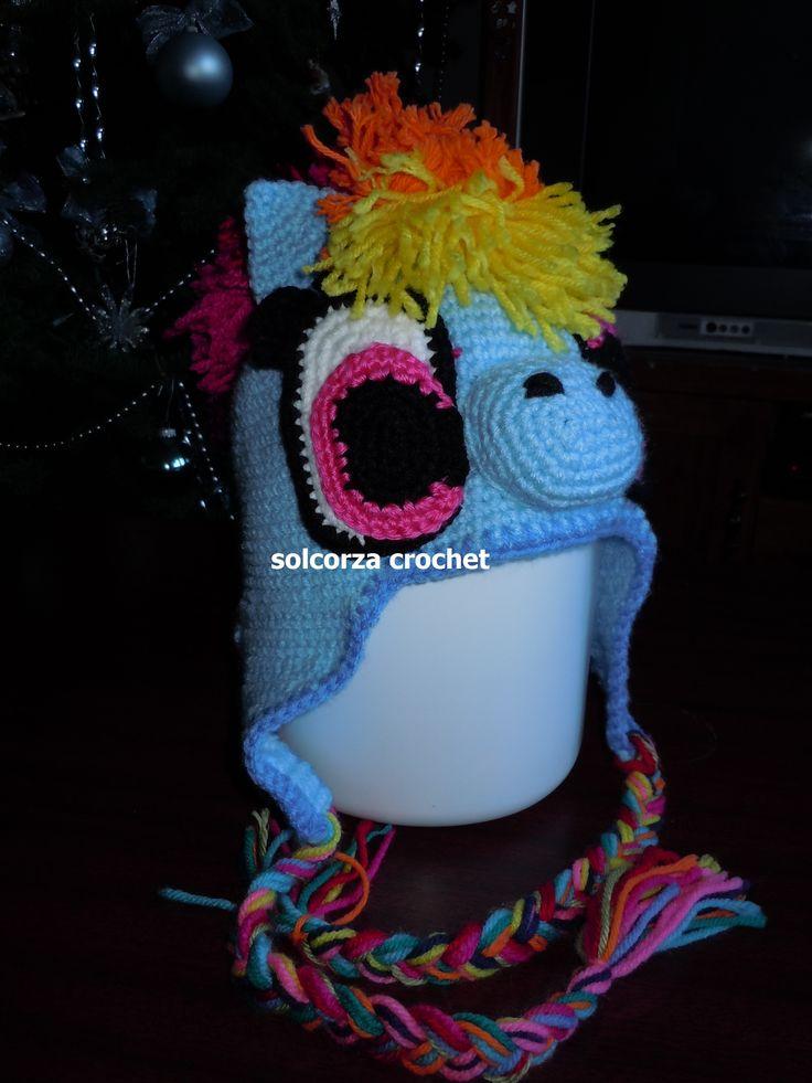 Increíble Crochet Libre Para Hombre Del Modelo Chambergo Ornamento ...