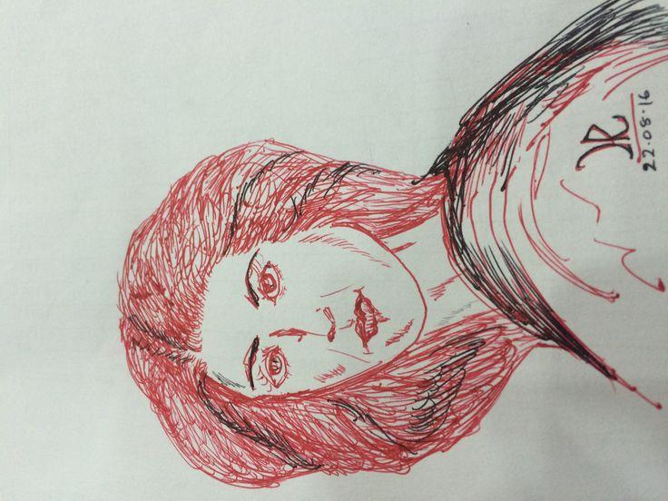 2nd , ball pen art