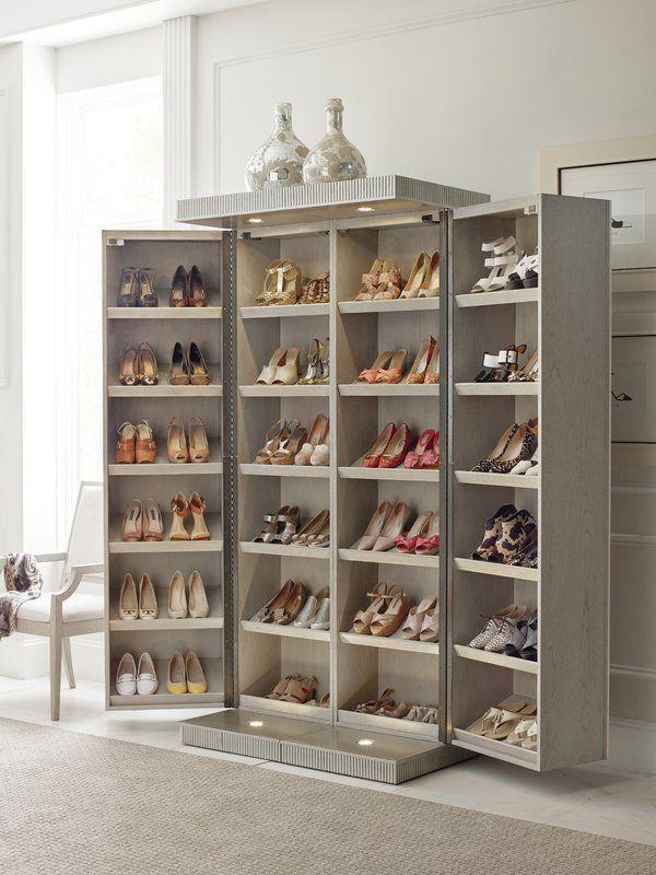 Cinema 24 Pair Shoe Storage Cabinet Storage Furniture Bedroom