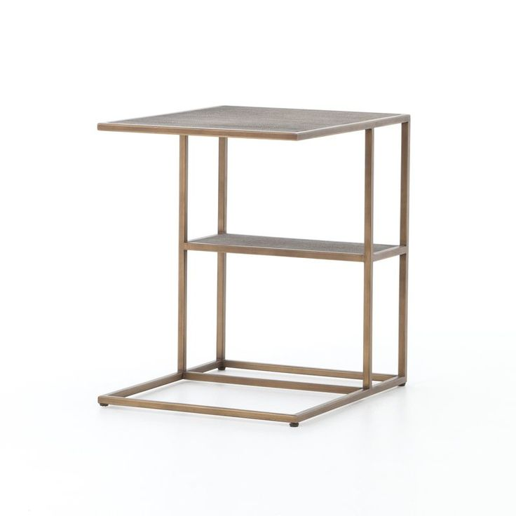 Have to purchase altus creek shagreen end table by