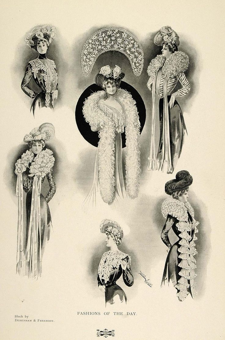 1901 Fashions of the Day