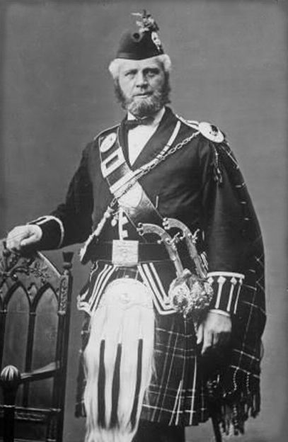 John Brown sits for a portrait circa 1850. He was the personal attendant to Queen Victoria who often stayed at Balmoral, her Highland retreat, after the death of her beloved Prince Albert in 1861. The Queen and her ghillie John Brown became such close friends that their relationship caused scandal throughout the court and government of the time. Brown served with her for 18 years before he died at Windsor.
