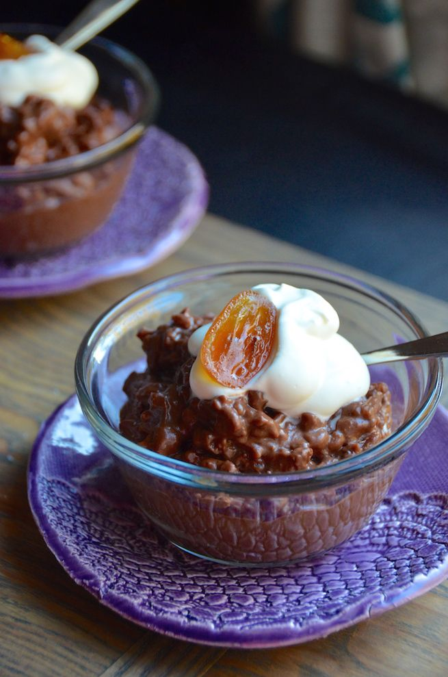 Try this 3-step dark chocolate rice pudding recipe for the easiest and creamiest dessert ever!