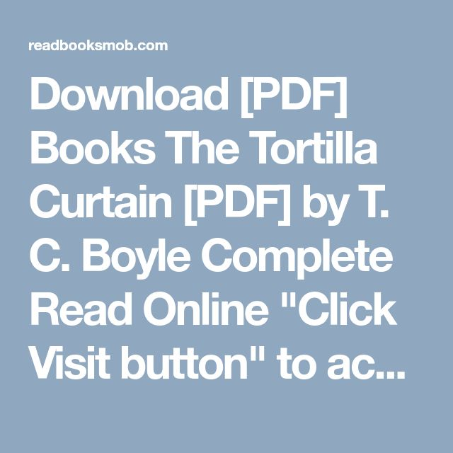 the tortilla curtain full audiobook free