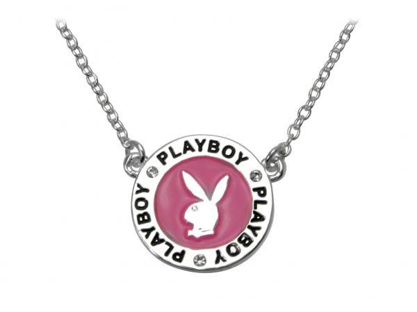 Náhrdelník Playboy Medal Pink