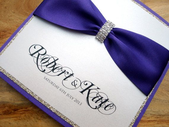 Cadbury Purple Wedding Invitations: 25+ Best Ideas About Cadbury Purple Wedding On Pinterest