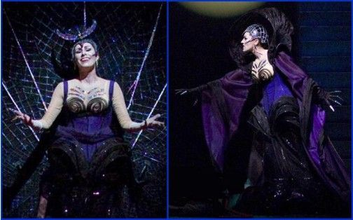 Erika Miklosa as Queen of the Night in San Francisco Opera's 2007 production of Mozart's Magic Flute