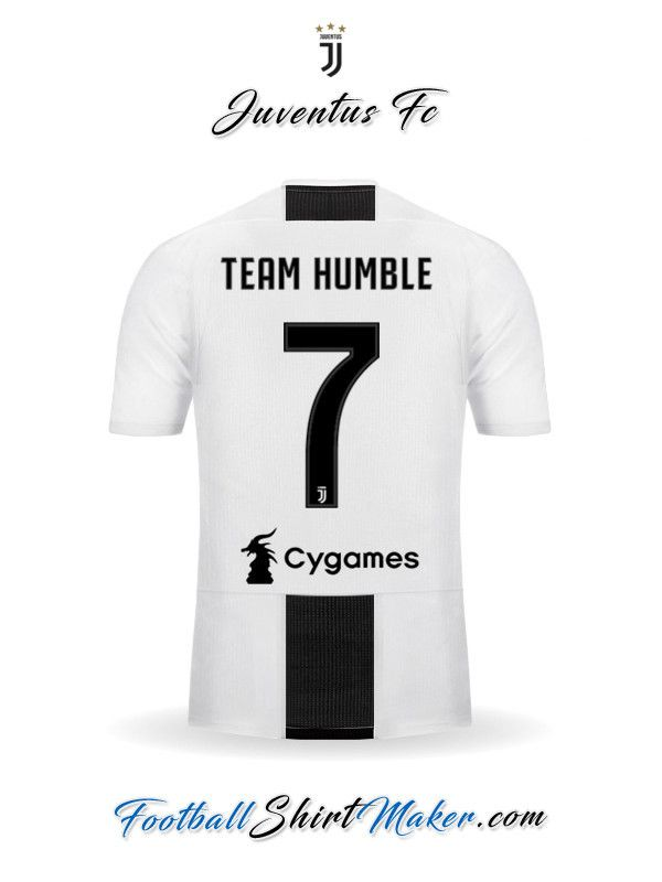 16d454cb33c Jersey Juventus FC 2018/19 Team humble 7 | Team Humble 2K18 ...