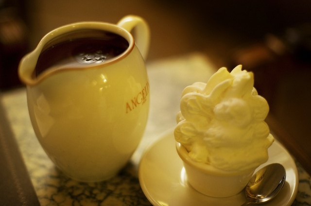 Decadent hot chocolate from Angelina in Paris / by Stuck in Customs, via Flickr
