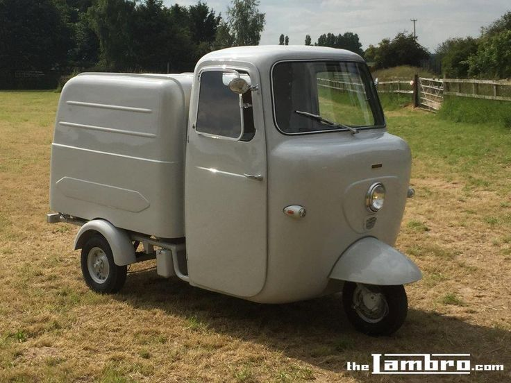 Series 2 Lambretta Li 175 Box Version