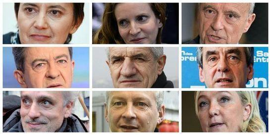"""#Factchecking: """"Qui sont les candidats à la présidentielle?"""""""