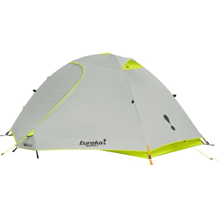 Eureka Midori Basecamp 4 Tent: 4-Person 3-Season One Color