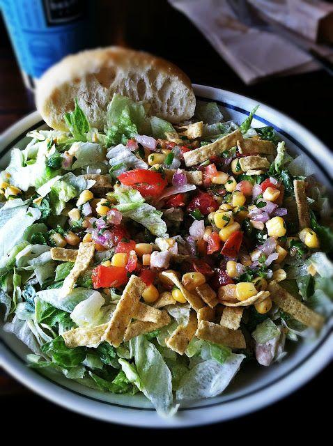 Corner Bakery Cafe's Santa Fe Ranch Salad  #Houston #Texas #Food #AdventuresInANewishCity