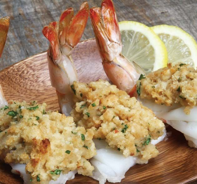 Stuffed Butterflied Shrimp Recipe | Magic Skillet