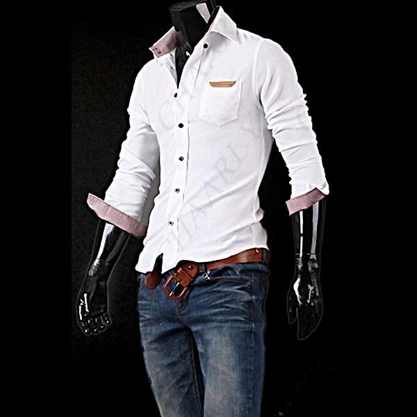 Men Long Sleeve Dress Shirt
